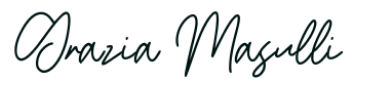 Firma di Grazia Masulli